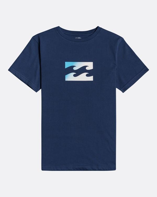 0 Team Wave - T-Shirt für Jungen Blau U2SS01BIF0 Billabong