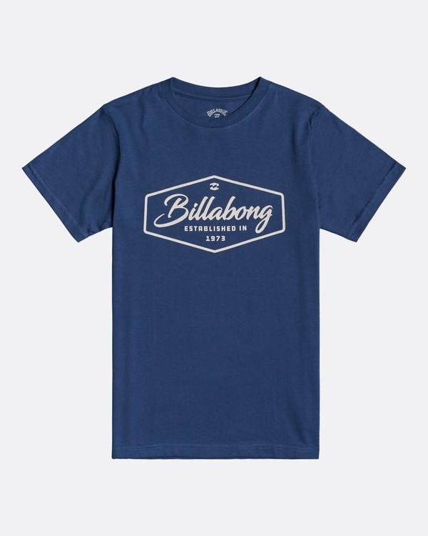 0 Trademark - T-Shirt for Boys Blue U2SS03BIF0 Billabong