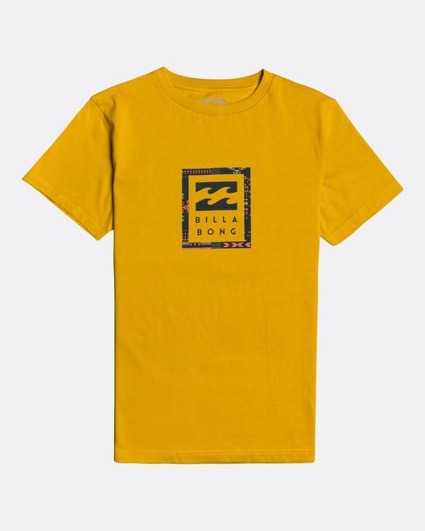 0 Unity - T-Shirt for Boys Yellow U2SS06BIF0 Billabong