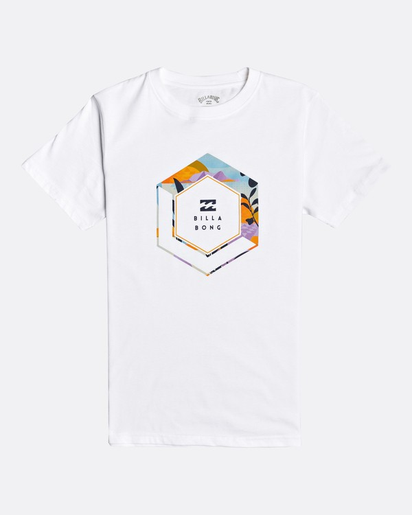 0 Access - Camiseta para Chicos Blanco U2SS14BIF0 Billabong