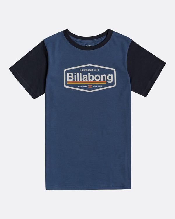 0 Montana - Camiseta para Chicos Azul U2SS16BIF0 Billabong