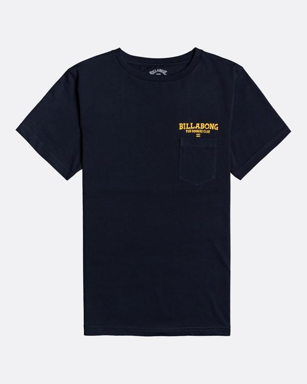 0 Pier - T-Shirt für Jungen Blau U2SS21BIF0 Billabong