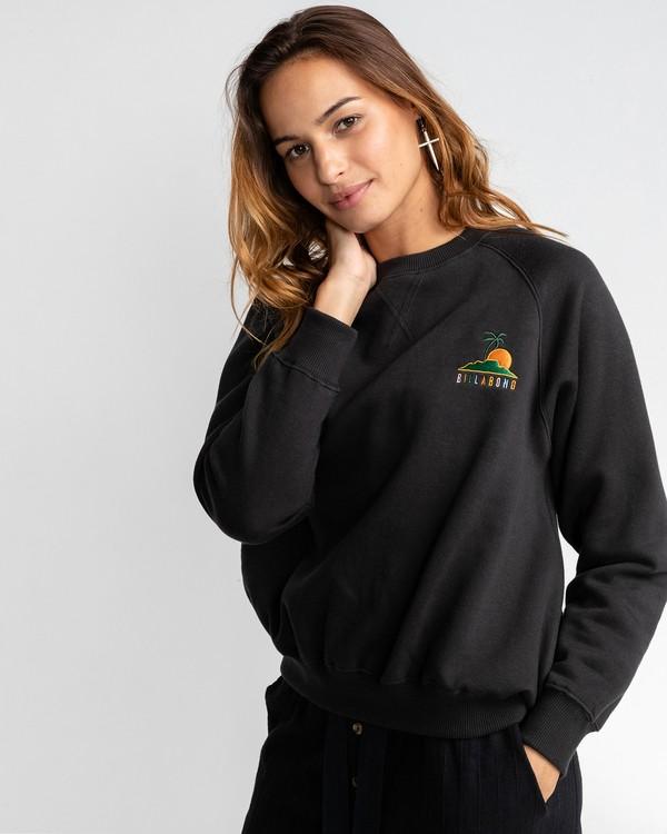 0 Rise And Grind - Sweatshirt für Frauen Schwarz U3CR02BIF0 Billabong