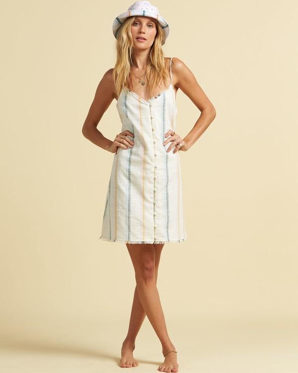0 Salty Blonde Sunny Stripes - Slip Dress for Women Multicolor U3DR31BIF0 Billabong