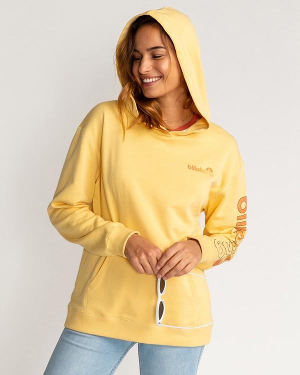 0 Stocked - Hoodie for Women Yellow U3HO15BIF0 Billabong