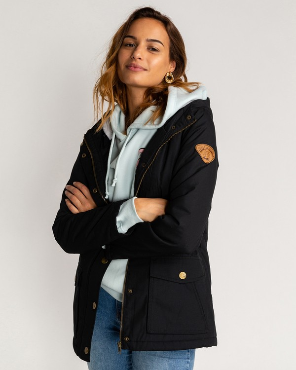 0 Facil Iti - Jacke für Frauen Schwarz U3JK11BIF0 Billabong