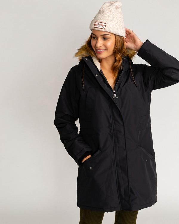 0 Adventure Division Collection Colder Weather - Chaqueta impermeable 10K para Mujer Negro U3JK12BIF0 Billabong