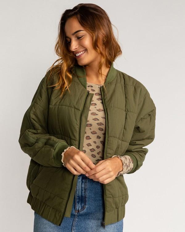 0 Storm - Jacke für Frauen Grün U3JK22BIF0 Billabong