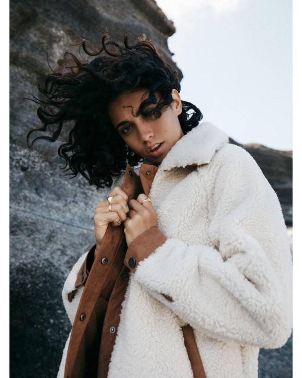 0 Great Escape - Chaqueta de vellón para Mujer Blanco U3JK23BIF0 Billabong