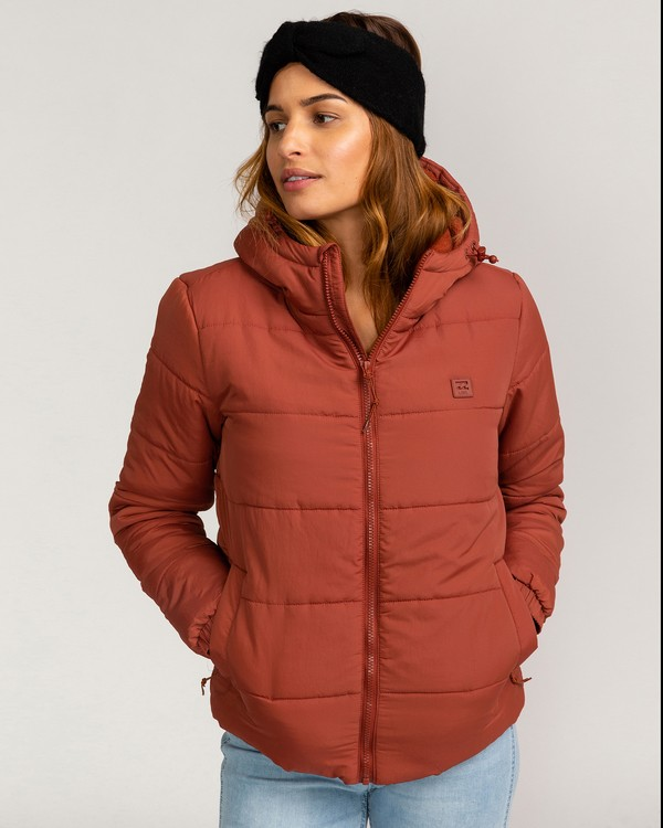 0 Adventure Division Collection Transport Puffer 2 - Chaqueta Acolchada para Mujer  U3JK24BIF0 Billabong