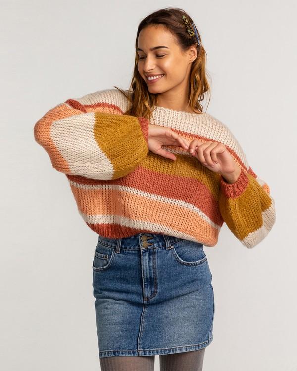 0 Soft Wind - Pullover für Frauen Braun U3JP12BIF0 Billabong