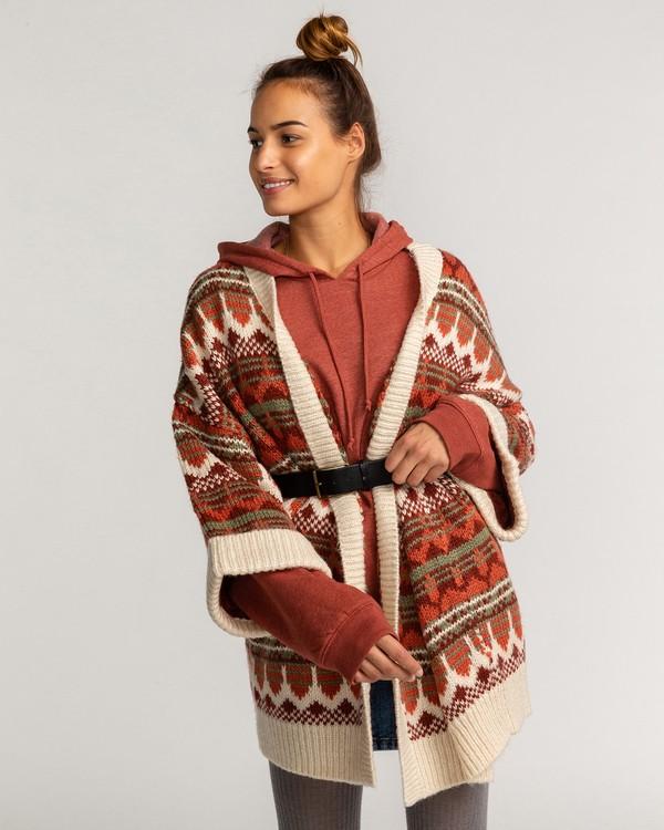0 Wintersounds - Pullover für Frauen Grün U3JP14BIF0 Billabong