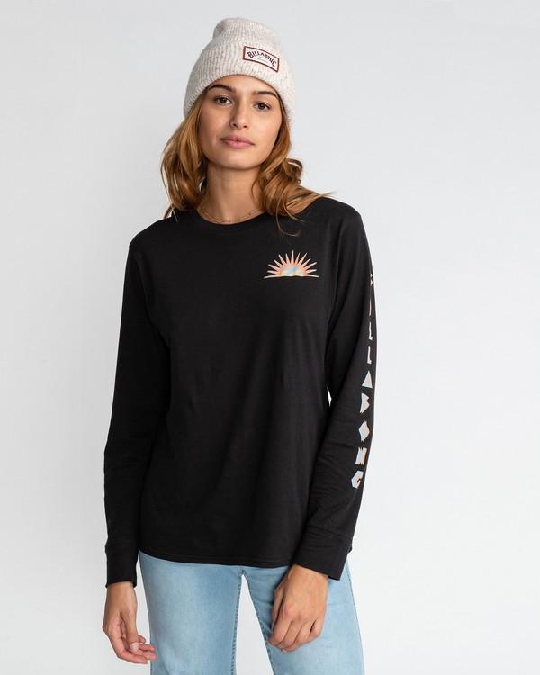 0 Sol Invictus - T-Shirt für Frauen Schwarz U3LS06BIF0 Billabong