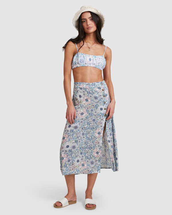 0 Dream Daze - Midi Skirt for Women Azul U3SK50BIMU Billabong