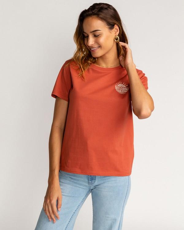0 Vera Cruise - T-Shirt für Frauen Braun U3SS35BIF0 Billabong