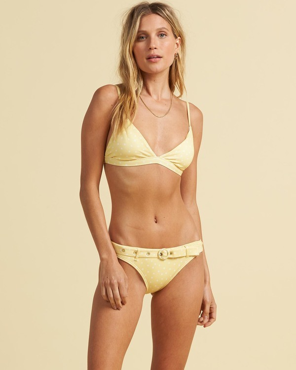 0 Salty Blonde Sundipped - Tri Bikini Top for Women  U3ST30BIF0 Billabong