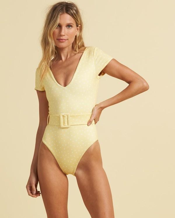 0 Salty Blonde Sundipped - Badeanzug für Frauen Gelb U3SW30BIF0 Billabong
