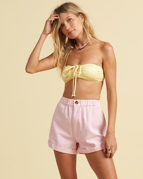 0 Salty Blonde Sun Bleached - Shorts for Women Pink U3WK30BIF0 Billabong