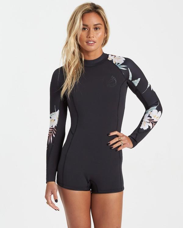 0 Surf Capsule Spring Fever - Traje de surf de primavera para Mujer Negro U42G33BIF0 Billabong