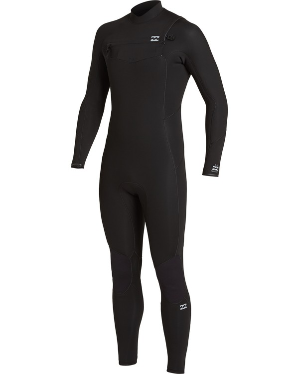 0 Absolute 3/2mm GBS - Chest Zip Wetsuit for Men Black U43M56BIF0 Billabong