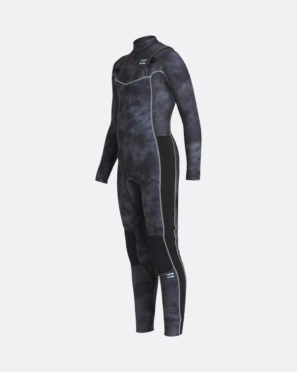 0 Revolution 4/3mm - Chest-Zip Neoprenanzug für Jungen Schwarz U44B11BIF0 Billabong