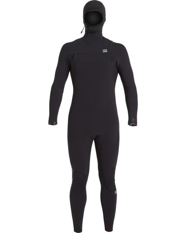 0 Furnace Carbon 4/3mm - Chest-Zip Neoprenanzug für Männer Schwarz U44M53BIF0 Billabong