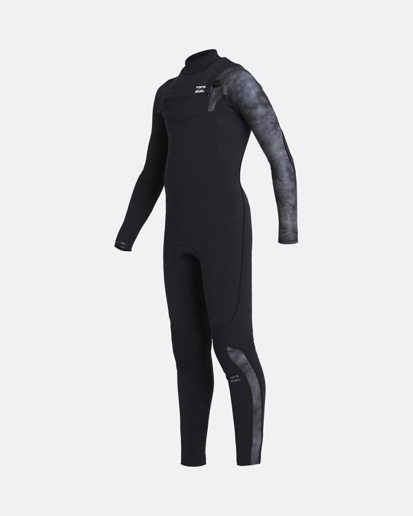 0 Furnace Carbon 5/4mm Comp GBS - Traje de surf con cremallera frontal para Chicos Negro U45B10BIF0 Billabong