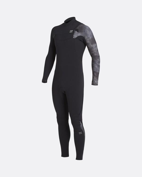 0 Furnace Carbon 5/4mm Comp GBS - Chest-Zip Neoprenanzug für Männer Schwarz U45M53BIF0 Billabong