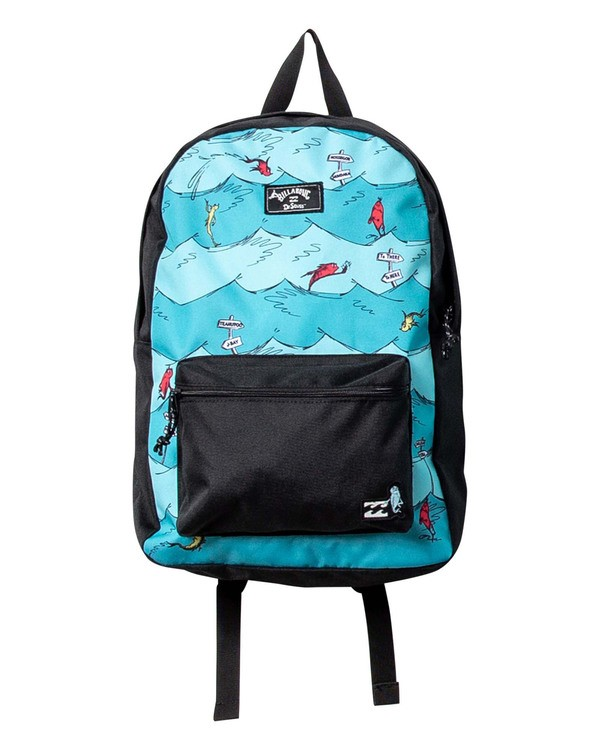 0 Dr Seuss 1 Fish2 Fish All Day - Backpack for Men Blue U5BP18BIF0 Billabong