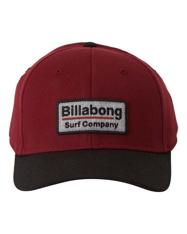 0 Walled Stretch - Stretch Cap for Men Red U5CF03BIF0 Billabong