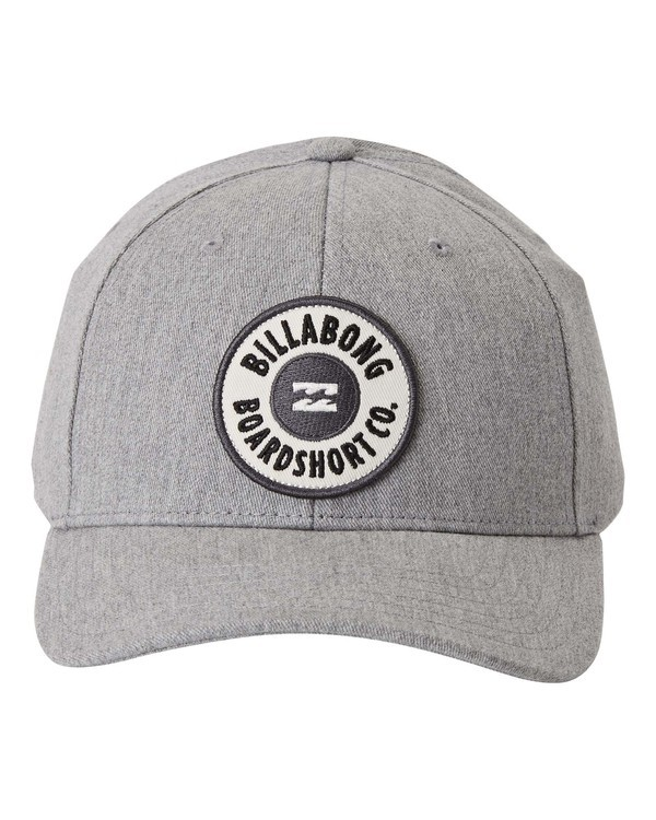 0 Walled - Snapback Cap for Men Grey U5CM02BIF0 Billabong