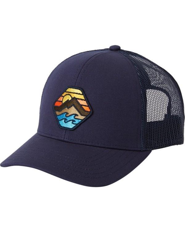 0 Adventure Division Collection Walled - Trucker Cap for Men Blue U5CT07BIF0 Billabong