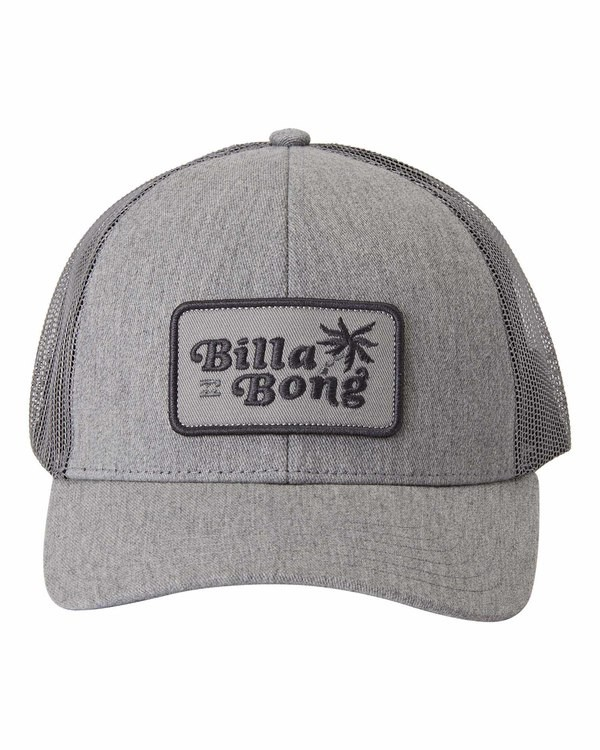0 Walled - Trucker Cap for Men Grey U5CT08BIF0 Billabong
