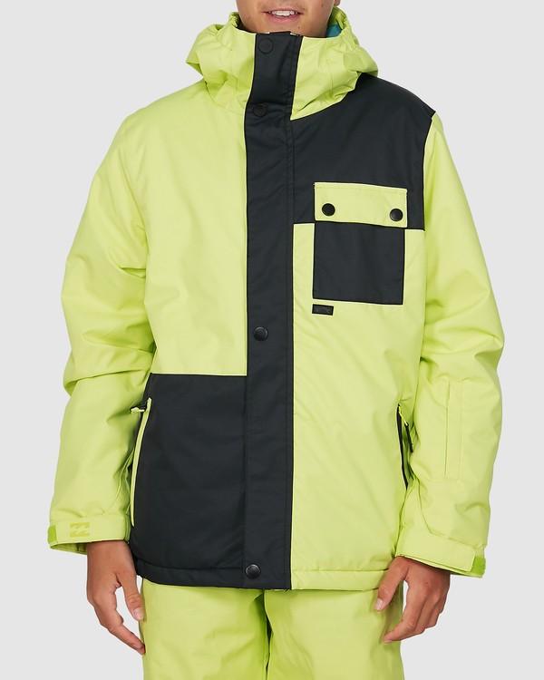 0 Arcade Boys Jacket Green U6JB20S Billabong