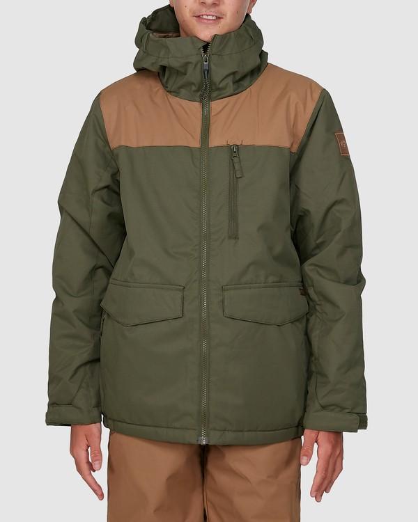 0 All Day Boys Jacket Green U6JB21S Billabong