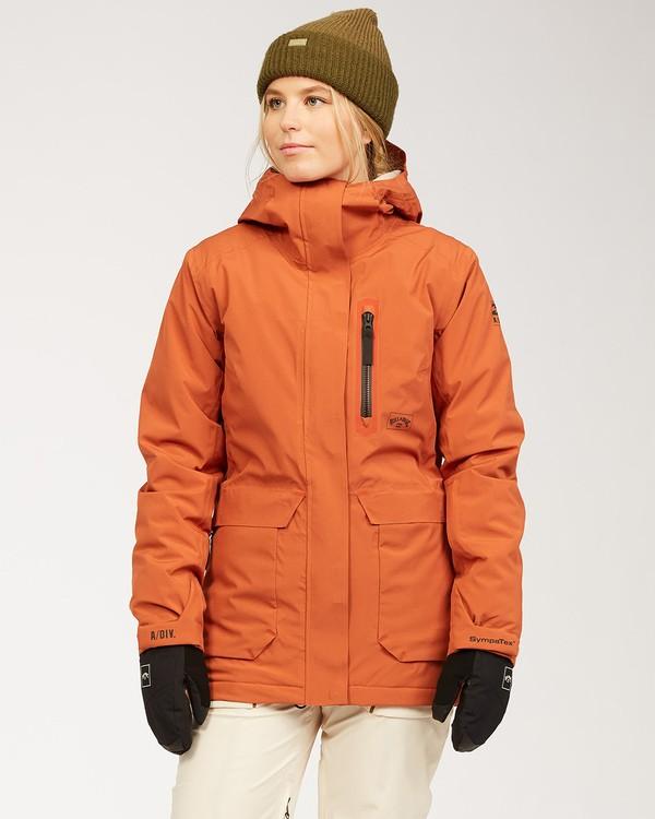 0 Adventure Division Collection Trooper Stx - Wasserdichte Jacke für Frauen  U6JF20BIF0 Billabong
