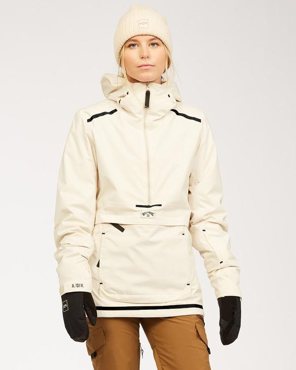 0 Adventure Division Collection Passage - Jacket for Women White U6JF21BIF0 Billabong