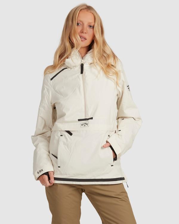 0 Adiv Anorak Jacket White U6JF21S Billabong