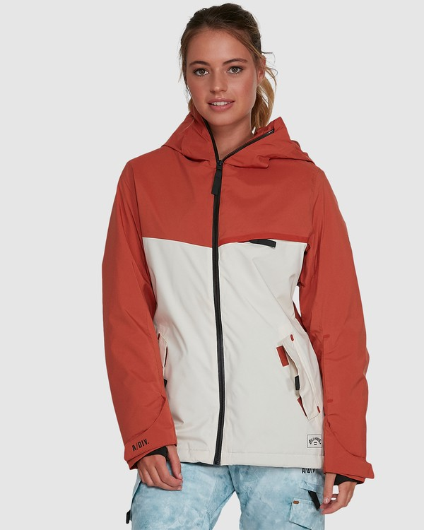 0 Eclipse Jacket Orange U6JF22S Billabong