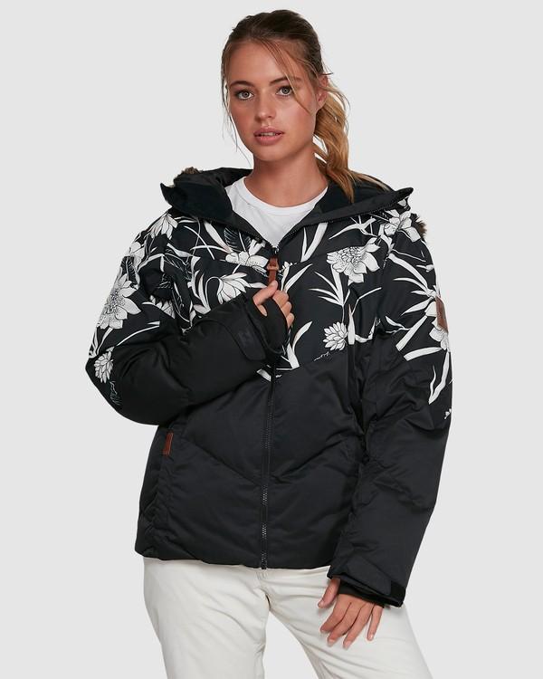 0 Daytime Puffer Jacket Black U6JF23S Billabong