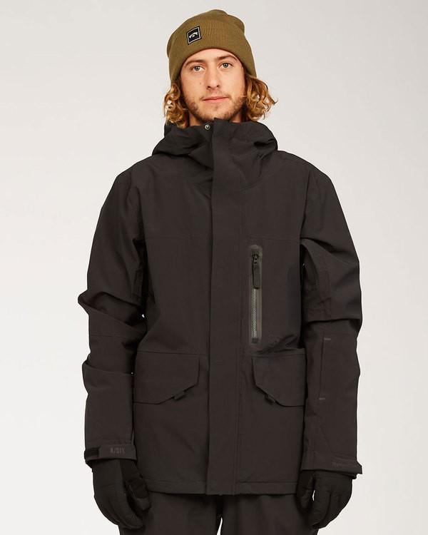 0 Adventure Division Collection Delta Stx - Wasserdichte Jacke für Männer Schwarz U6JM21BIF0 Billabong