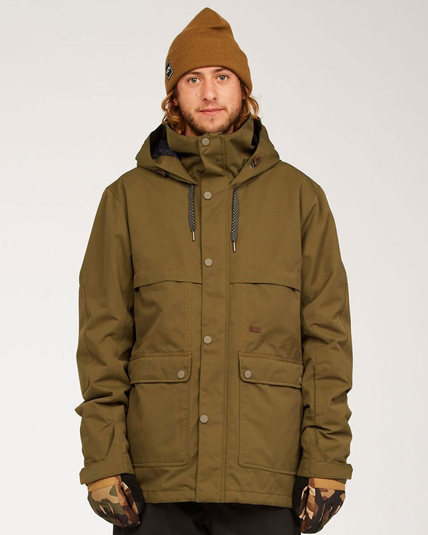 0 Shadow - Jacket for Men Green U6JM26BIF0 Billabong