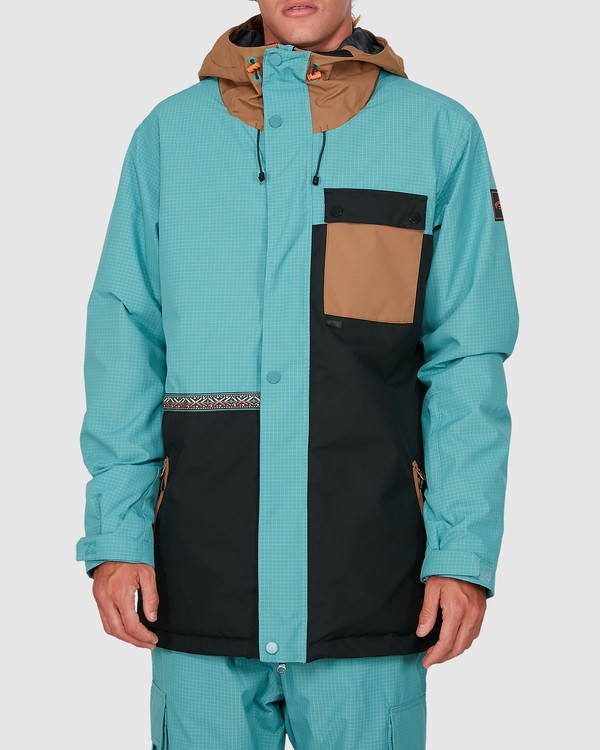 0 Arcade Jacket Blue U6JM28S Billabong