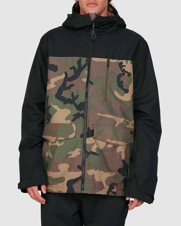 0 All Day 2L 10K Jacket Camo U6JM29S Billabong