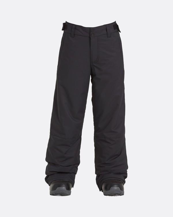 0 Grom - Pantalones para nieve para Chicos Negro U6PB10BIF0 Billabong