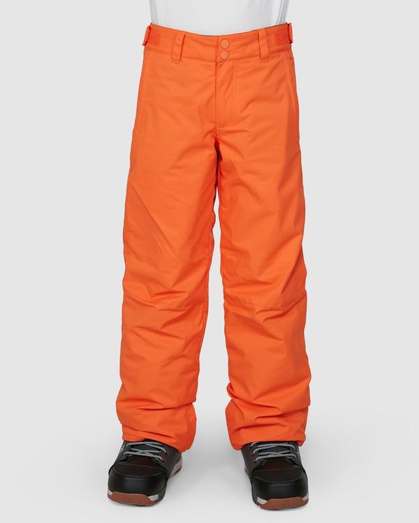 0 Grom Boys Pants Orange U6PB10S Billabong