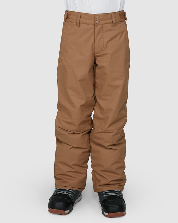 0 Grom Boys Pants Brown U6PB10S Billabong
