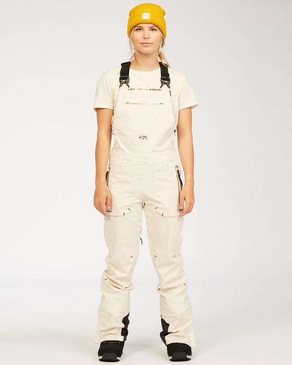 0 Adventure Division Collection Drifter Stx - Pantalones para nieve para Mujer Blanco U6PF20BIF0 Billabong