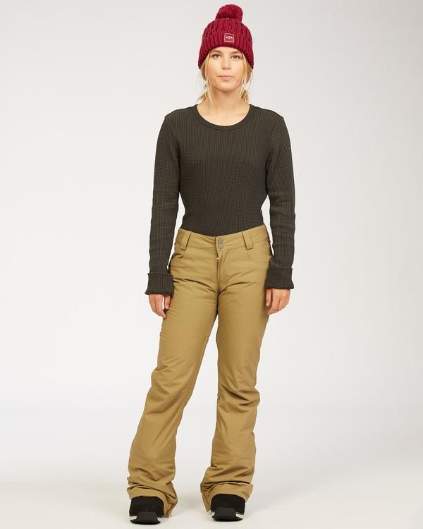 0 Terry - Snow Pants for Women Green U6PF23BIF0 Billabong