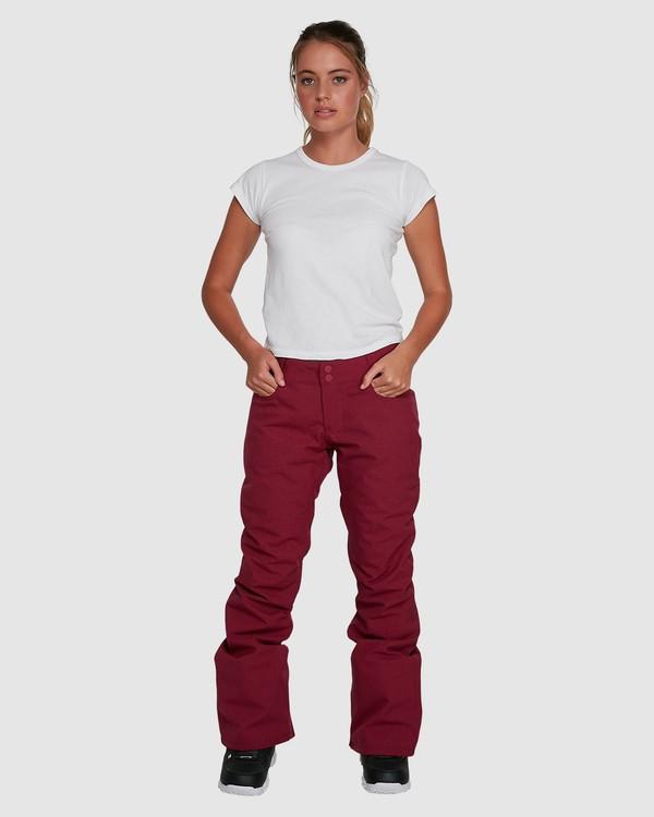 0 Terry Pants Red U6PF23S Billabong